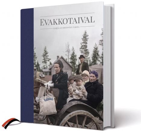 Evakkotaival on Vuoden karjalainen kirja 2019.
