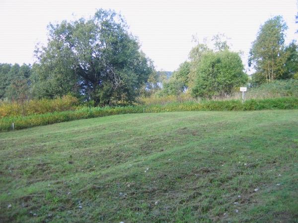 Sankarihautausmaa-alue Muolaan hautausmaalla.