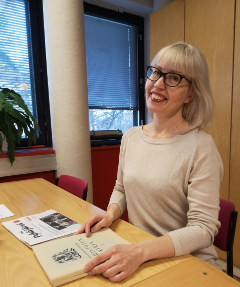 Katja Tikka on Karjalan Liiton historiankirjoittaja.