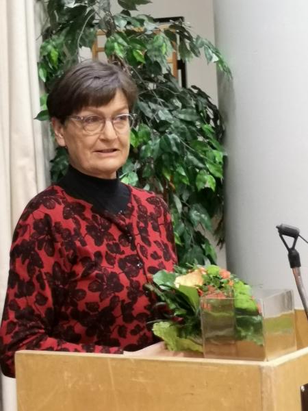 Liittovaltuuston 2. varapuheenjohtaja Kirsi Mononen.