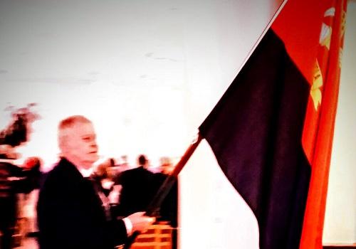 Paavolan Karjalaseuran virallinen lippu