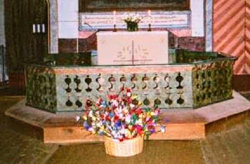 virpovitsojen siunaaminen kirkossa