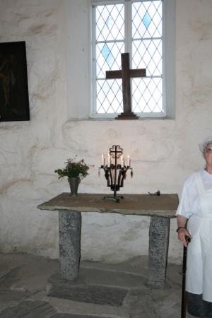 Kuva 18: Näkymä kappelin sisältä