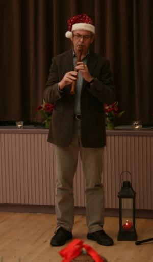 Kuva 14: Ja tässä Kristian esittää huilusooloa.