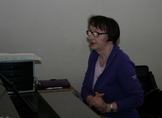 Kurssin kouluttajana toimi järjestökouluttaja Eevaliisa Kurki