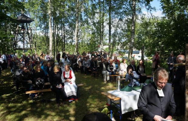 Valkjärvi-juhla vuonna 2015.