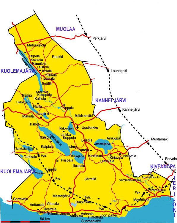 Kartat Karjalan Liitto
