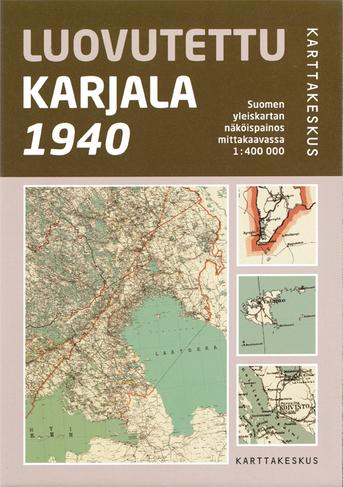 Luovutetun Karjalan kartta (1940)